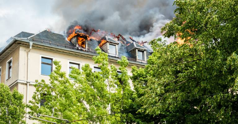 Brand in appartement